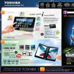 Toshiba Tablets Nvidia Tegra AS100 Android Libretto W100 1001U